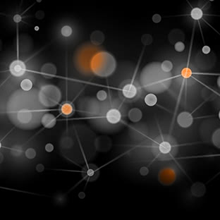 interconnected dots