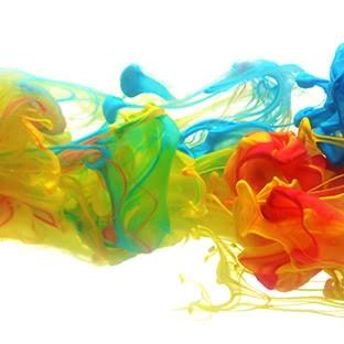 abstract ink blots